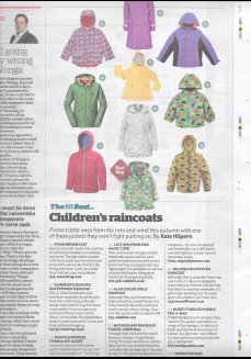 The Independent Newspaper - Top 10 Childrens raincoats