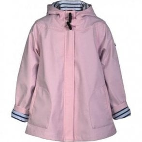 AliOli Kids Girls pink raincoat with hood