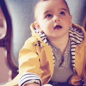 Baby Raincoat - Yellow