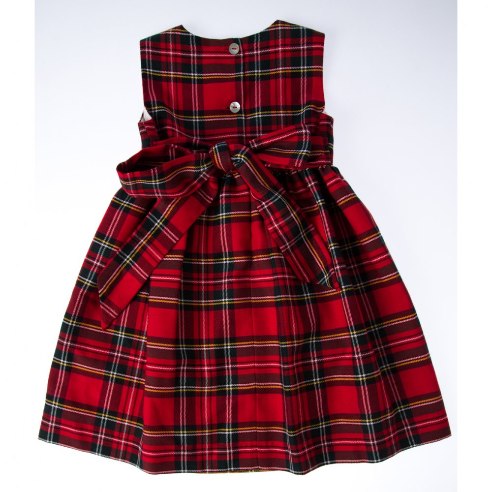 Girls Tartan Dresses from Gretna Green in a range of tartans and sizes. Our kids tartan dresses are perfect for any Scottish themed events or special occa.