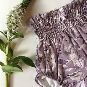 Lilac Stork bloomers