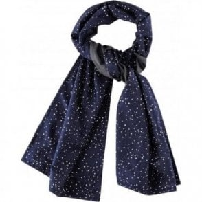 Midnight Blue Star Foulard