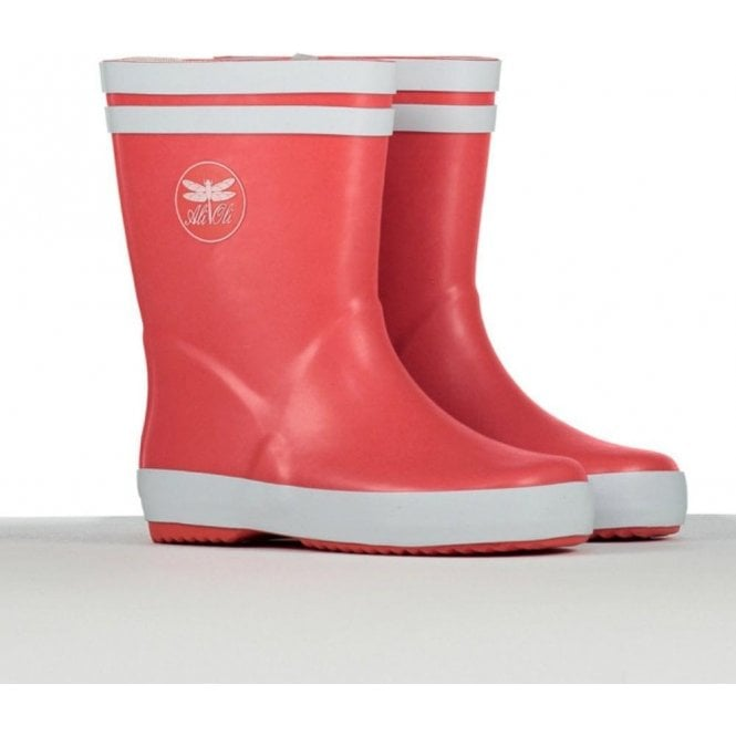 AliOli Kids Red Wellington Boots