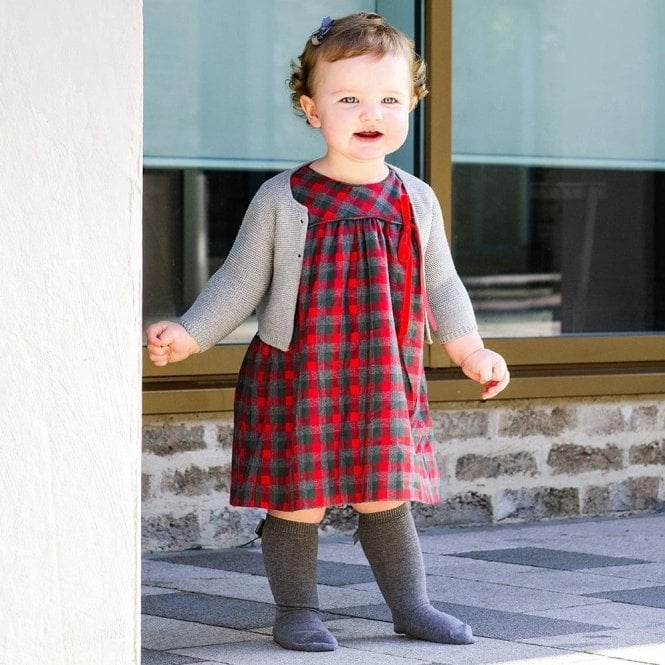 AliOli Kids Ruby Tartan Dress