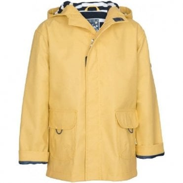 Yellow raincoat for boys and girls_C3120