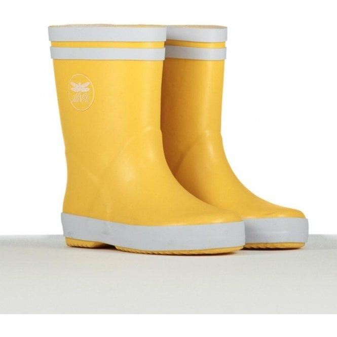 AliOli Kids Yellow Wellington Boots