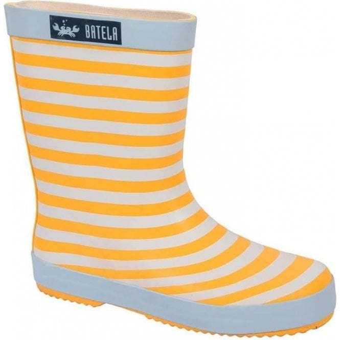 Batela Stripy wellington boots