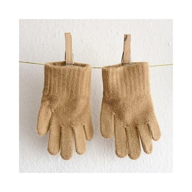 Childrens Gloves - Camel