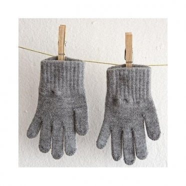 Childrens Gloves - Grey
