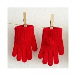 Childrens Gloves - Red