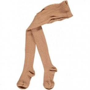 Childrens Tights - Camel