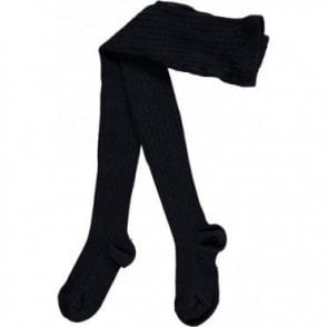 Childrens Tights - Navy_