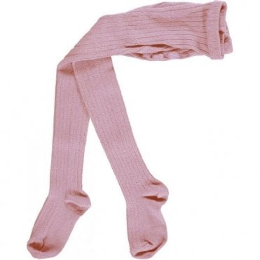 Childrens Tights Pale Rose