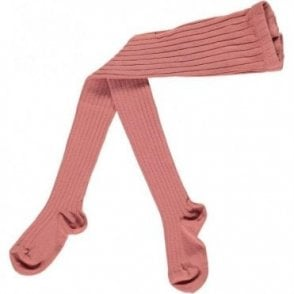 Childrens Tights - Terracota