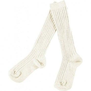 knee high ribbed socks_Cava