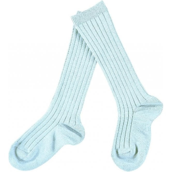 Condor Knee-High ribbed socks Celestial