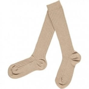 Knee-High ribbed socks Rope