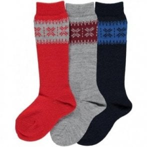 Knee high warm winter socks