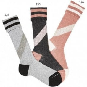 Retro party socks