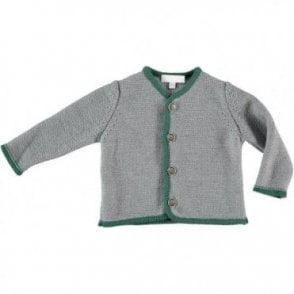 Baby boy knitted jacket