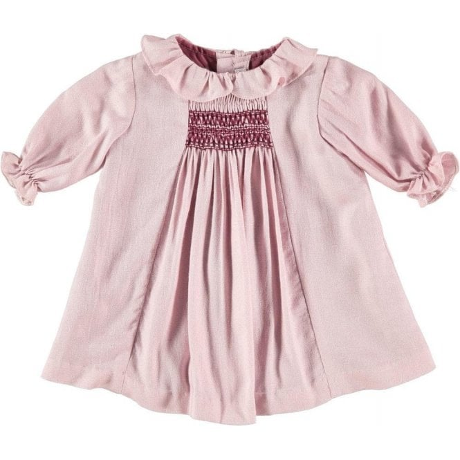 Fina Ejerique Baby girl pink dress