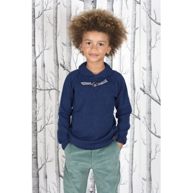 Fina Ejerique Boys blue pull over
