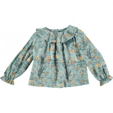 Girls garden blouse