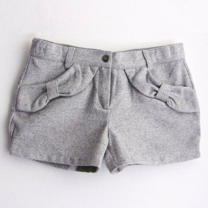 Fina Ejerique Girls grey shorts
