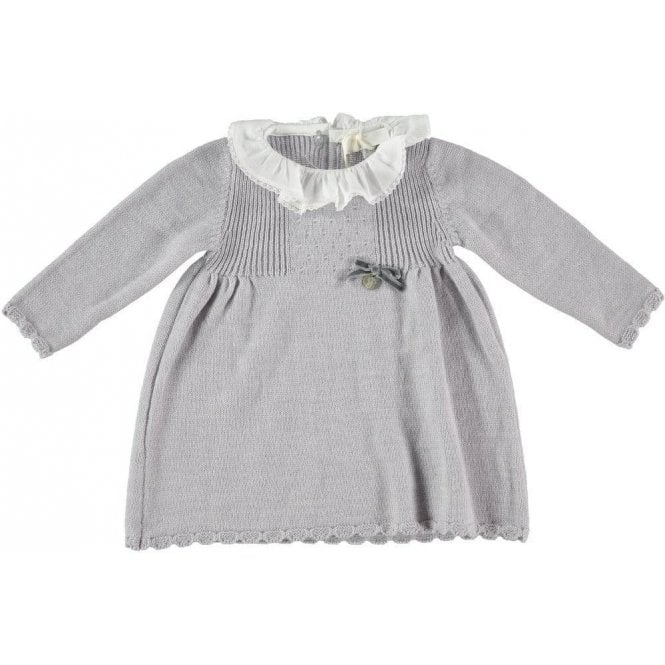 Fina Ejerique Knitted grey baby dress
