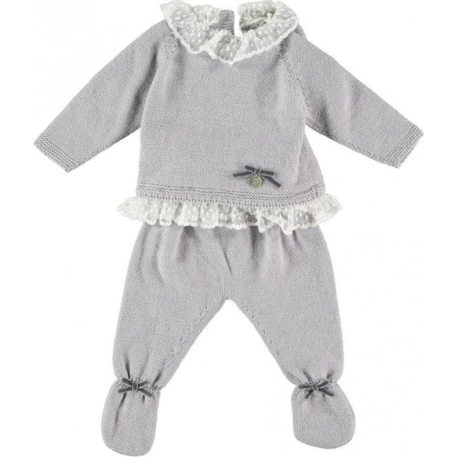 Fina Ejerique Knitted two piece baby outfit