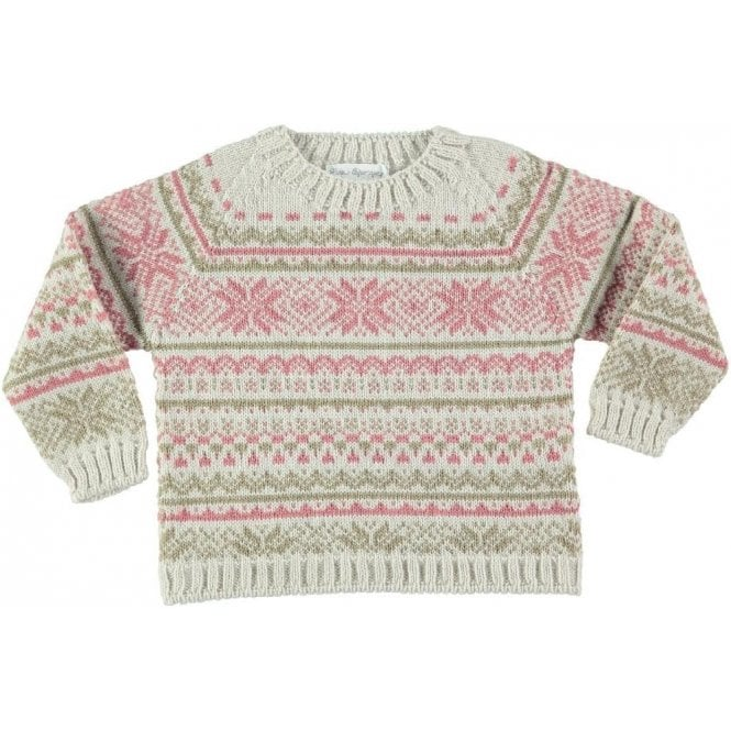 Fina Ejerique Snowflake knitted jumper